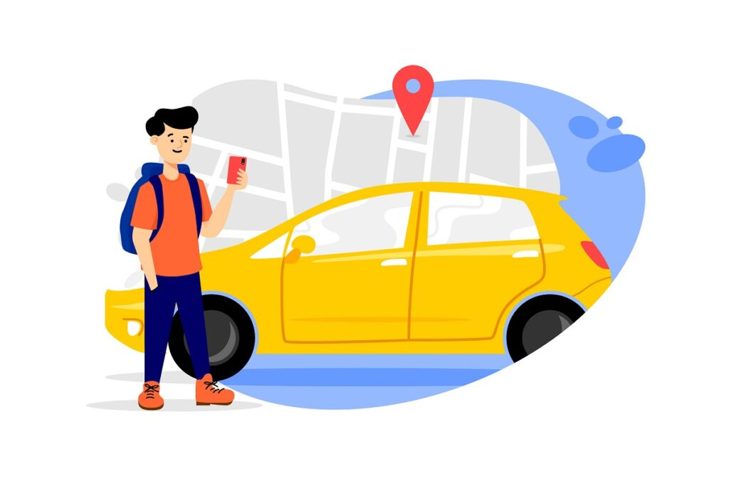 Uber Clone Taxi App Features